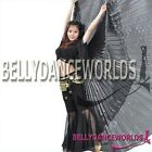 360° X 3M BELLY DANCE COSTUME LARGE ISIS WINGS 7 COLOR