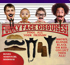 FUNKY FACE DISGUISES FAKE BEARD, MOUSTACHE & SIDEBURNS