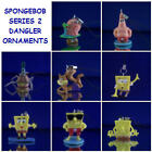 NICKELODEON SPONGEBOB v2 DANGLER CHARM ORNAMENTS U PICK