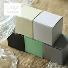 100pcs Favor Boxes 2x2x2 inch Wedding Party Baby Shower Candy Gift Boxes 5 Color