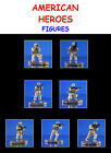 7 AMERICAN HEROES DESERT STORM MILITARY ACTION FIGURES CAKE TOPPERS-YOU PICK ONE