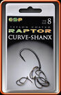 ESP Curve Shanx shank Hooks Barbed or Barbless *All sizes* *1 POST*