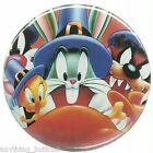 Thanksgiving- Bugs Bunny, Tweety, Taz, Sylvester -Button or Magnet -YOUR Choice!