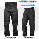 Men's Riessa Designer Armor Biker Motorcycle Motorbike Waterproof Pants Trousers
