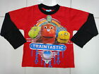 BNWT Chuggington Boys Long Sleeve T-shirt Tee Size 3,4,5,6,7