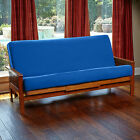 Futon Cover With 3 Sided Zipper Factory Direct Full/Queen Solid Colors USA Made