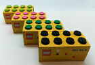 LEGO LUNCH/STORAGE MINI BOX 8 FOR SNACKS 4 COLOURS