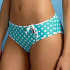 NEW Freya Lunar Low Leg Bikini Brief 9133 Turquoise Sizes XS-L