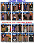NEW RETIRED HOMIES SERIES 5 FIGURES COMPLETE SET 24 OR SINGLES YOU PICK ONE