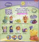 TOMY DISNEY WINNIE THE POOH PEEK-A-POOH SERIES 12 SET OF 8 DANGLERS YOU PICK ONE