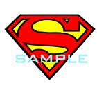 SUPERMAN LOGO T-SHIRT IRON ON TRANSFER 3 DESIGNS!