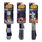 STAR WARS BASIC EXTENDING LIGHTSABER 3 TO CHOOSE FROM FANCY DRESS