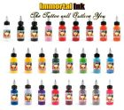 Immortal Tattoo Ink - 30ml (1oz) - Choose from over 25 Stunning Vibrant Colours