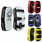 TurnerMAX Muay thai boxing kick training MMA punch bag strike shield pad New