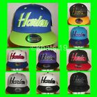 BRAND NEW FLAT PEAK VINTAGE HARLEM SNAPBACK BASEBALL CAP WITH TAGS