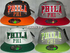 BRAND NEW FLAT PEAK VINTAGE PHILA (PHI)  SNAPBACK BASEBALL CAP WITH TAGS