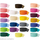 81ft Crepe Paper Streamer Colours Decorations All Under One Listing
