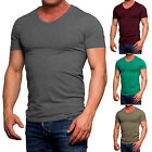 8849 Jack & Jones Herren Basic T-Shirt V-Neck grau Neu