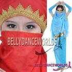 BELLY DANCE DANCING COSTUME HEAD SCARF FACE VEIL GOLD EMBROIDERY BOLLYWOOD PROPS