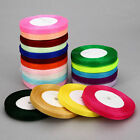 "50 Yard Roll Of Sheer Organza Ribbon - 10mm (3/8"") width...Various Colours"