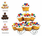 3/4/5 Tier 13/23/41 Cupcake Party Display Decorating Stand Cake Holder Organiser