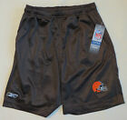 Cleveland Browns YOUTH Kids Basketball Football Shorts Reebok L (14-16) NWT 20