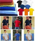 FOTL Fruit of the Loom Mens T-Shirt Blank Plain Cotton Top Clothing New S-XXXL