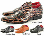 New Mens Italian Style Leather Lined Formal/ Casual Lace Up shoes UK Sizes 6-12