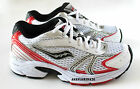 Saucony Cohesion 4 Sneakers Size 2 Youth 2M White/Silver/Black/Red Shoes Kids