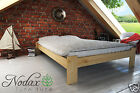 "New DoubleBed  ""Ada"" 4ft6in Pine , Walnut, Oak, Alder Solid Wooden P&P free"