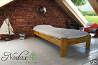 "Wooden Pine Single Bed  ""3 ft Ada"" Pine , Walnut, Oak, Alder"