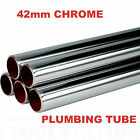 42mm Chrome Plumbing Pipe 42mm Chrome Pipe Lengths from 250mm to 1000mm *