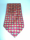Smart, Casual & Contemporary 100% Silk Tie Men's Necktie Geese & Diamond Pattern