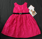 NWT girls size 4 5 bright pink magenta Christmas holiday dress Sweetheart Rose