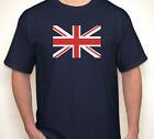 UNION JACK Great Britain/British England/English flag navy jersey/T-shirt S-5XL