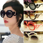 New Retro-inspired Women Butterfly Clouds Arms Sunglasses Semi Transparent Round