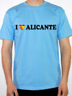 I LOVE ALICANTE - Spanish / Spain Themed Mens T-Shirt Various Colours and Sizes