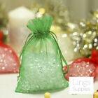 "500 Organza Bags 3x4"" 4x6"" 5x7"" Wedding Christmas Party Favor Gift Candy Pouches"