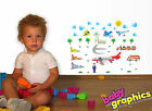 Aeroplanes and Airport kids wall stickers (40 elements) - by babygraphics