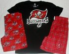 TAMPA BAY BUCCANEERS  PAJAMAS SET PANTS SHIRT SHORTS  YOUTH BOYS S M L XL NWT $37.99 USD on eBay