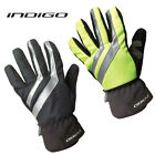 INDIGO WATERPROOF WINTER CYCLING GLOVES, BLACK (SIZE S-M-L-XL-XXL) RRP £19.99