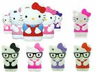 Hello Kitty 3D iPod Touch 4th Gen Case Silicone Cover Pinks Purples Reds UK 4 g