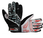 New Winter NEW Cycling Bike Bicycle Full Finger Gloves Black Color Size M - XL