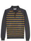 Lyle and Scott Green Eagle Half Zip Argyle Pullover