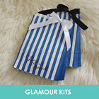 50 LOVE IS SWEET BLUE STRIPED RETRO CANDY BAGS SHOP BAR SWEETIE BUFFET TABLE