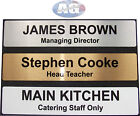 Personalised Door Sign 255x50mm Home Office Business 2 LINES OF TEXT