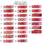 Washi Tape Masking Tape Gift and Craft Tape - RED