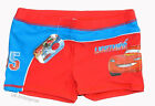 Boys DISNEY PIXAR CARS SWIMMING SWIM SHORTS TRUNKS UK Seller