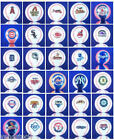 2 NEW OFFICIALLY LICENSED MLB MINI BASEBALL DECORATION PARTY FAVOR CAKE TOPPERS