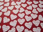 100+ Personalised Hearts Birthday Confetti Table Age Party 18th 21st 30th 40th